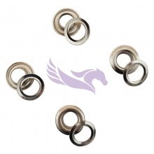 Banner eyelets for HK eyelet machines 10mm 1000 pieces