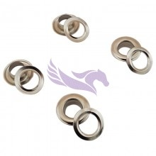 Banner eyelets for HK eyelet machines 12mm 1000 pieces