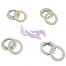 Banner eyelets for Automatic Monster eyelet machines metal-plastic 13mm 1000 pieces
