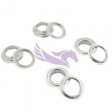 Banner eyelets for Automatic Monster eyelet machines metal-metal 13mm 1000 pieces