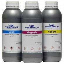 UV ink Pegasus WPX for UV printers with Ricoh heads HandTop Wit-color