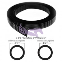 copy of UV ink tube 4mm x 3mm 4 lines