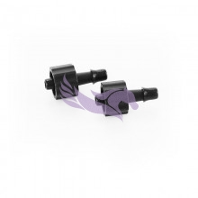 UV connector for UFO filters and long filters and for 3x2mm tubes